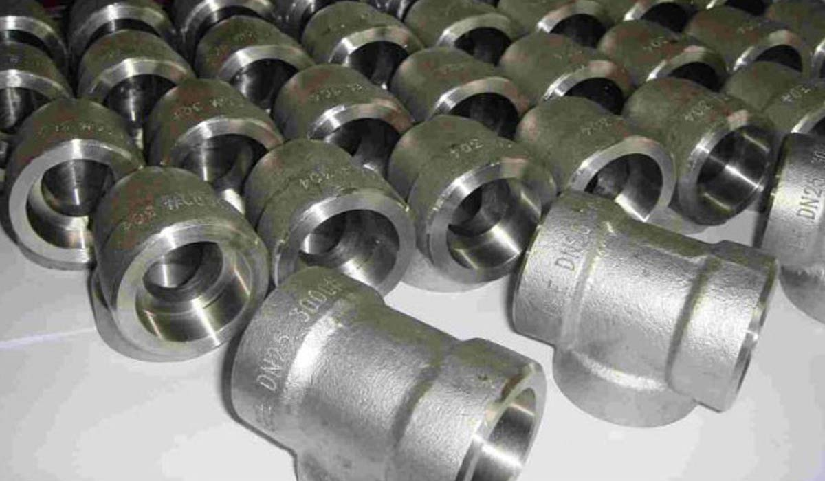 Alloy forged fittings socket weld