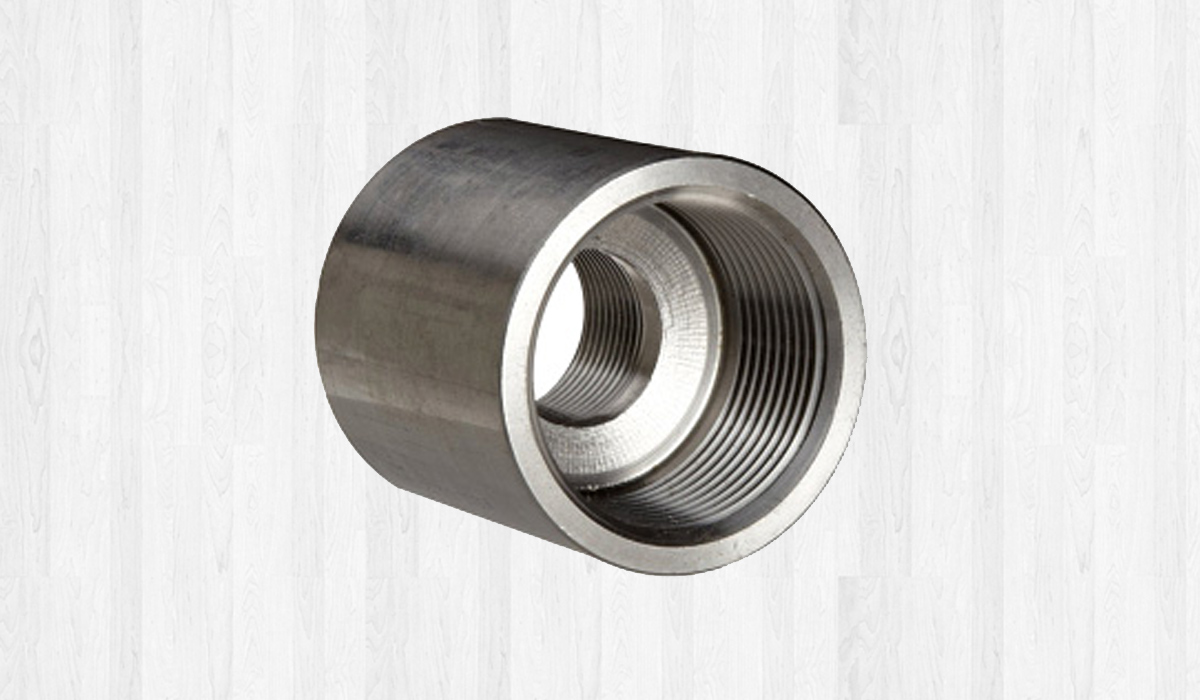 Forged Threaded Full And Half Couplings Asme B16 11 Supplier