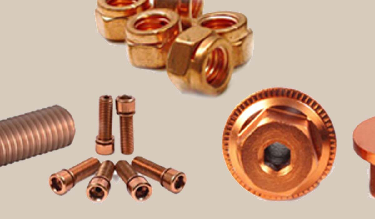 Cupro Nickel 70 / 30 Fasteners