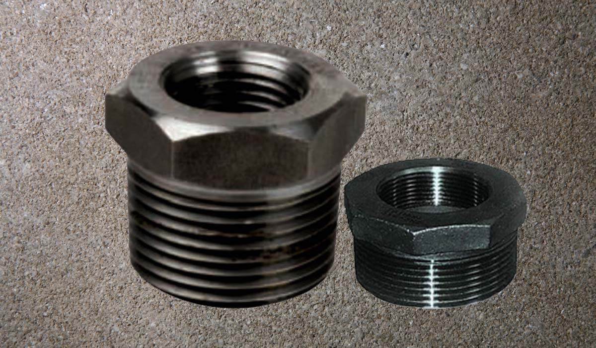 Carbon Steel Forged Threaded Bushing