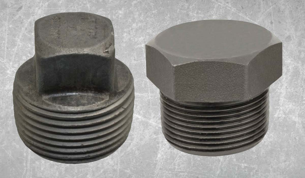 Carbon Steel Forged Threaded Plugs