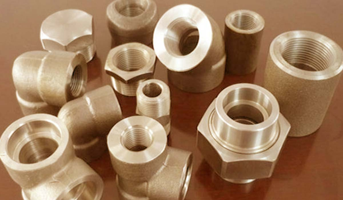 Cupro Nickel 90 / 10 Forged Fittings