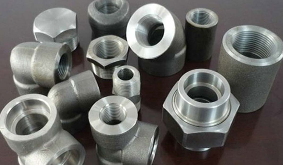 Duplex steel uns s forged fittings