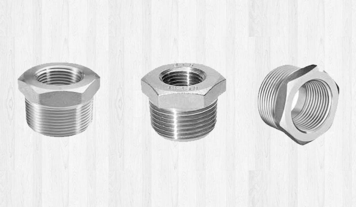 Duplex Steel Forged Threaded Bushing