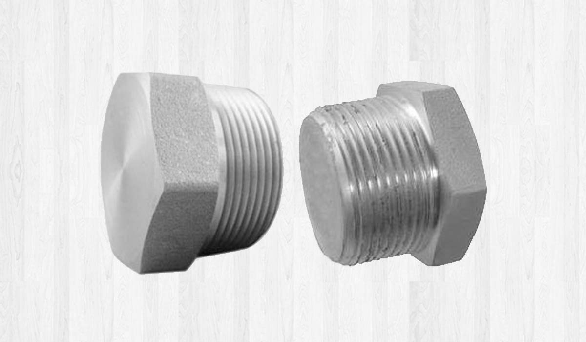 Duplex Steel Forged Threaded Plugs