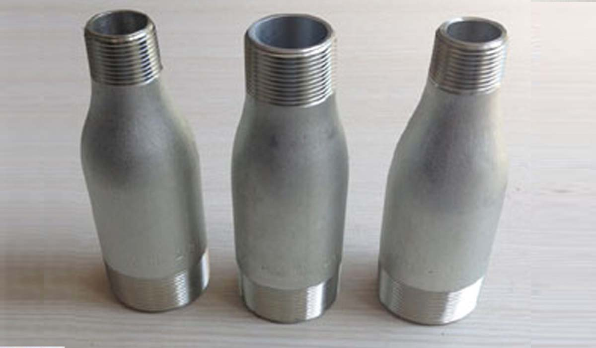 Duplex Steel Forged Threaded Swage Nipple