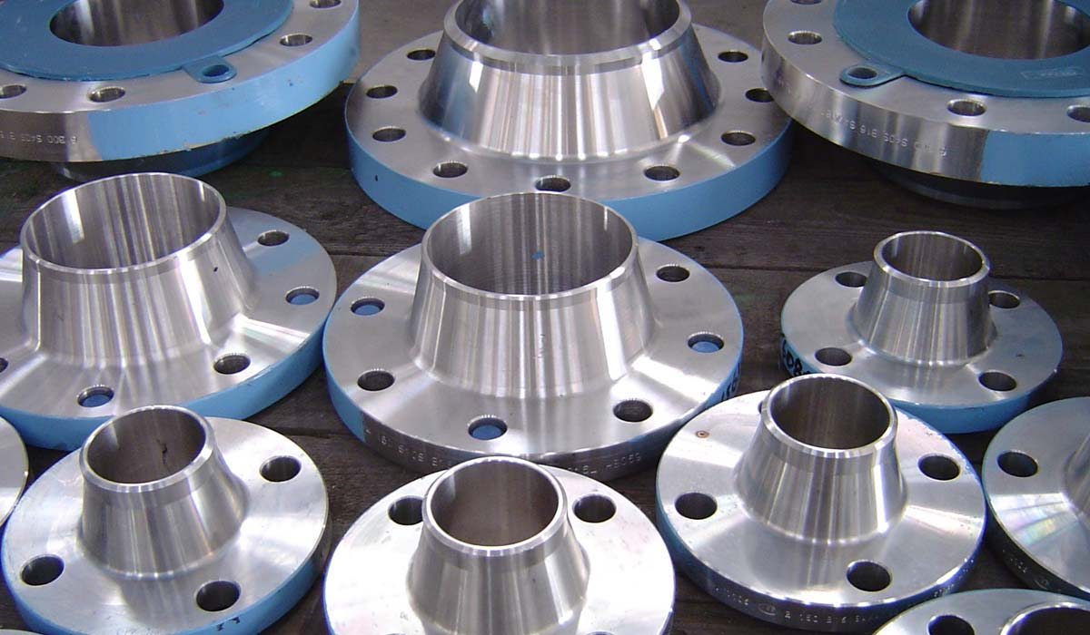 Stamped Steel Flanges : Ss h slip on flanges weld neck