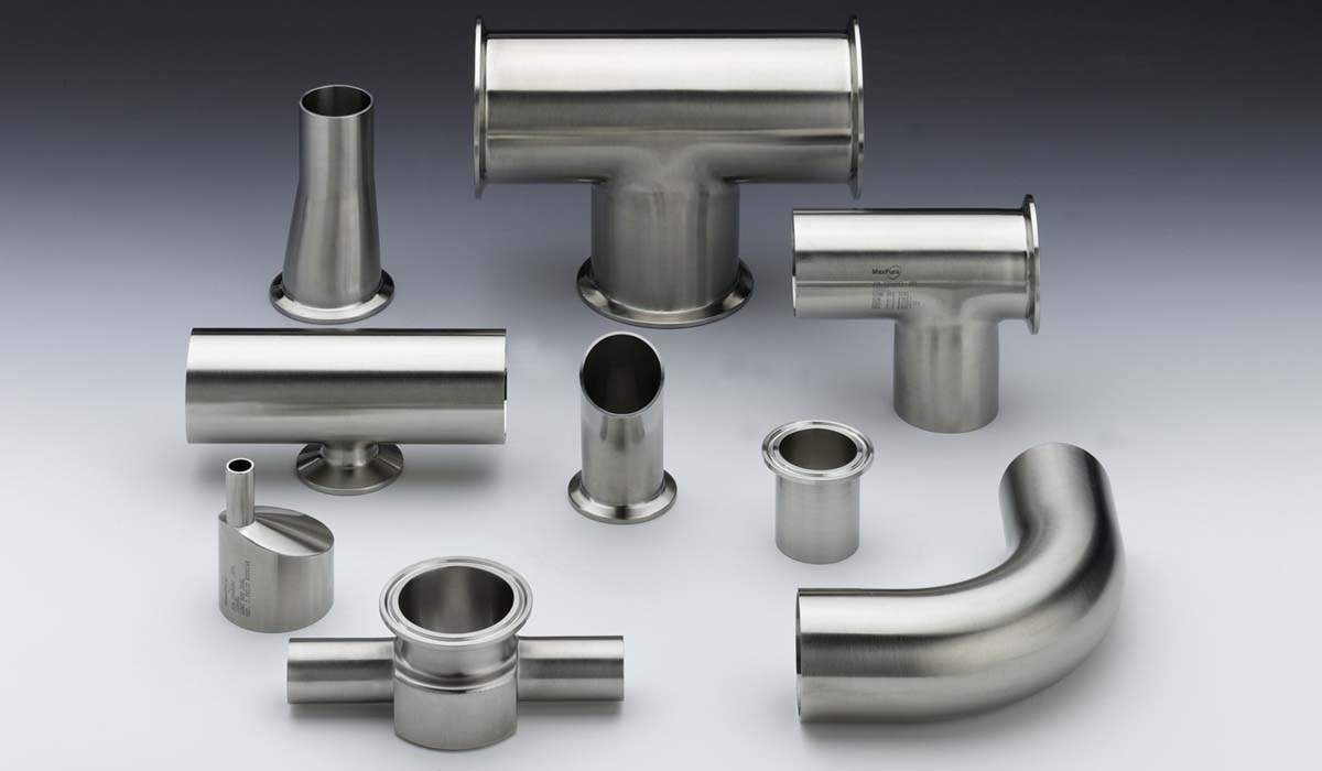 Stainless Steel TC Fittings, SS Bio-Pharmaceutical Fittings