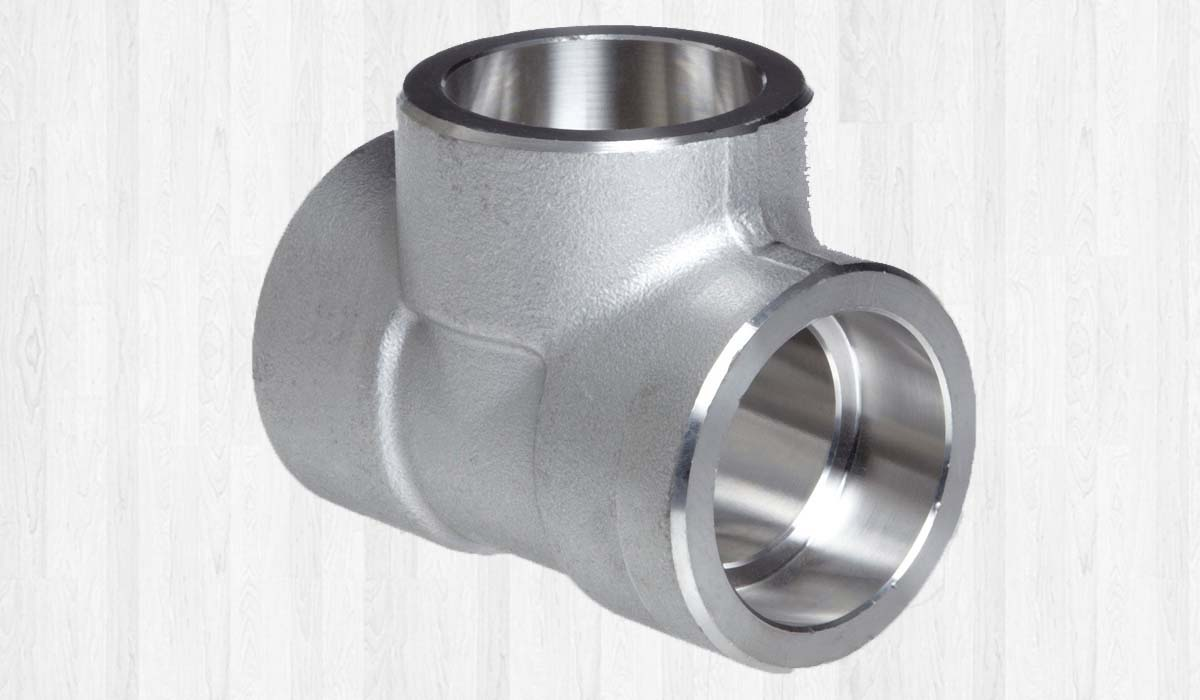 Stainless Steel Forged Socket Weld Tees