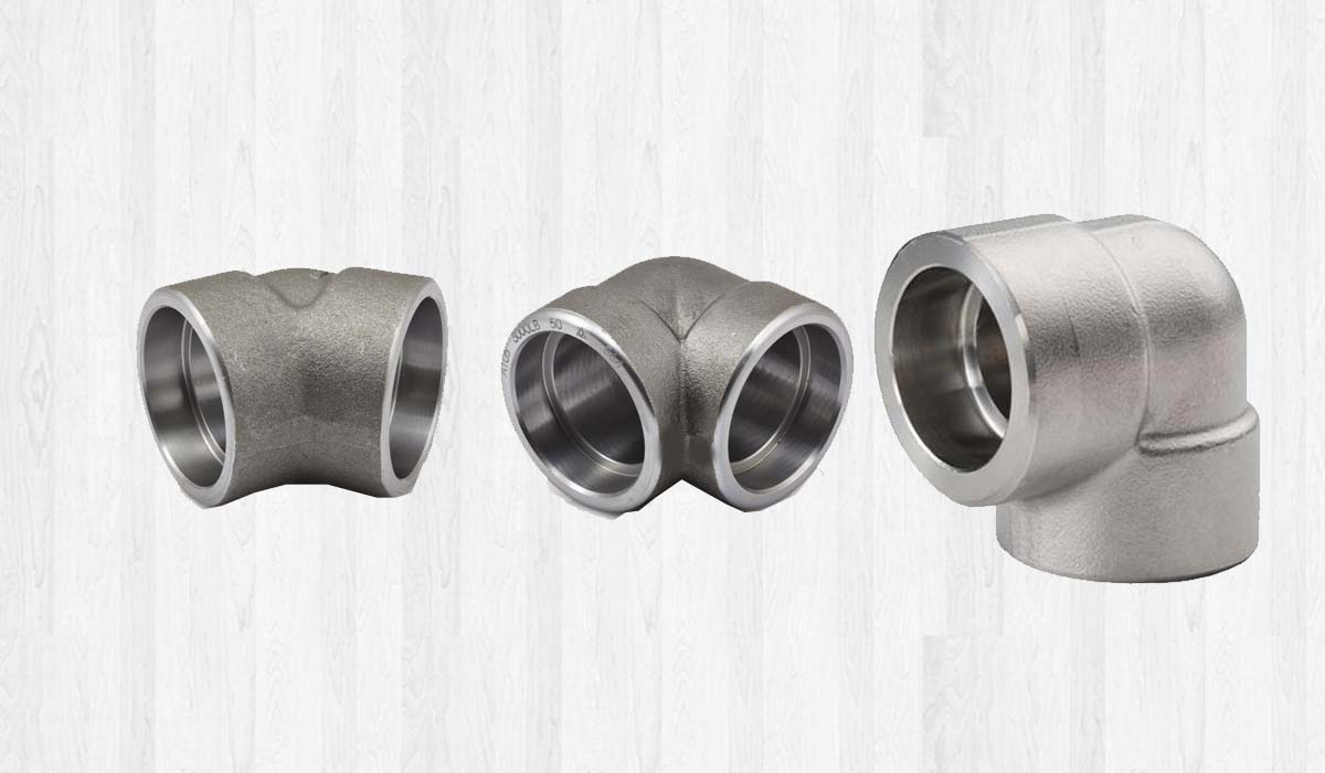 Forged socket weld fitting tees cross and couplings