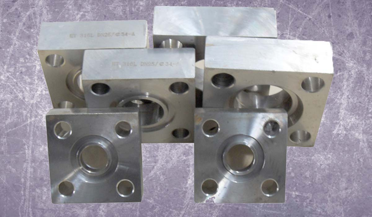 Stainless Steel Square Flanges