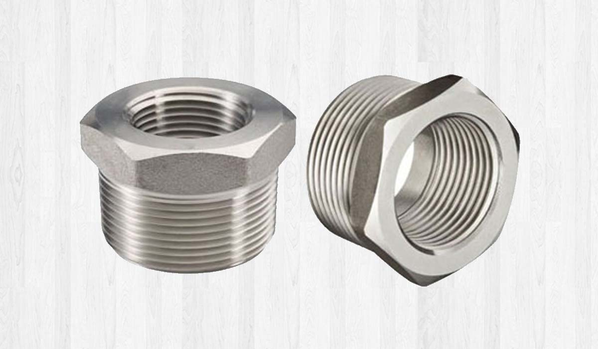 Stainless Steel Forged Threaded Bushing